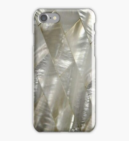 mother of pearl art deco phone iPhone Case/Skin