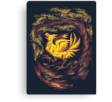 Chocobo with Blossoms Canvas Print