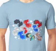 Bettas and Bubbles Unisex T-Shirt