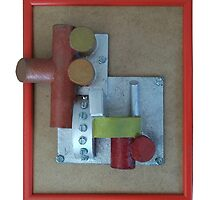 Industrial frame by Roy Isaacs
