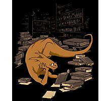 The Book Wyrm Photographic Print