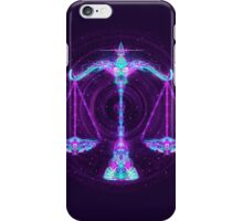 Libra - Zodiac Lightburst iPhone Case/Skin