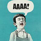 AAAA! (Blue) by Lukas Brezak