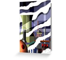 industry 6 Greeting Card