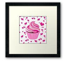Miss Cupcake Framed Print