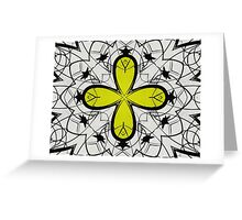 Color Symmetry 2 Greeting Card