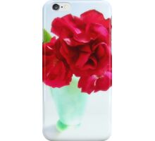 Red Red Roses Still Life iPhone Case/Skin