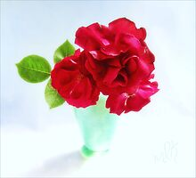 Red Red Roses Still Life by LouiseK