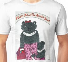 Please protect the Asiatic Bear! Unisex T-Shirt