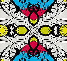 Color Symmetry 3 by SRowe Art
