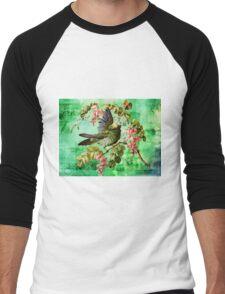 BIRD AND BUTTERFLY Men's Baseball ¾ T-Shirt