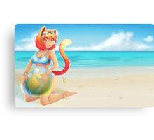Beach Boopies Canvas Print