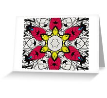Color Symmetry 4 Greeting Card