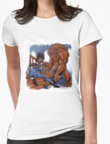 Belle - Fury Tales #2 Womens Fitted T-Shirt