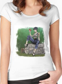 Snow White - Fury Tales #3 Women's Fitted Scoop T-Shirt