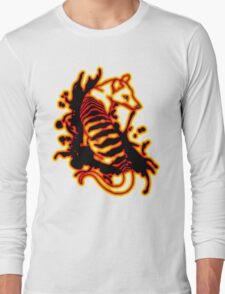 Flame Thylacine Long Sleeve T-Shirt