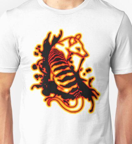 Flame Thylacine Unisex T-Shirt