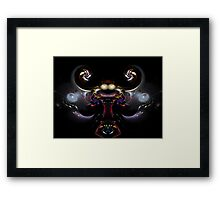 Juggling Jar Jar Framed Print