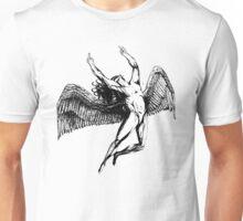 ICARUS FLIPS THE BIRD - black - NEW!!!! Unisex T-Shirt