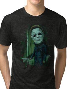 """Michael Stalking"" Tri-blend T-Shirt"