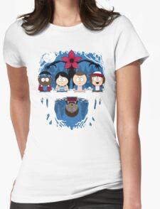Stranger Park Womens Fitted T-Shirt