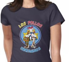 Los Pollos Hermanos - Colourful Variant Womens Fitted T-Shirt