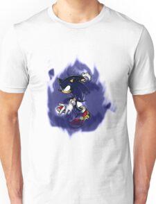 Dark Sonic (Black Background) Unisex T-Shirt