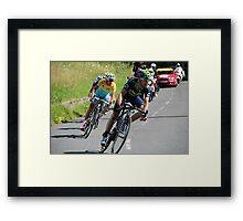 Tour de France 2014 - Valverde & Nibali Framed Print