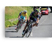 Tour de France 2014 - Valverde & Nibali Canvas Print