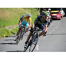 Tour de France 2014 - Valverde & Nibali Photographic Print