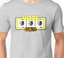 Monokuma guilty slot machine Unisex T-Shirt
