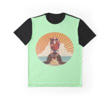 Master Roshi turtle rider Graphic T-Shirt