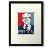 Milton Friedman Framed Print
