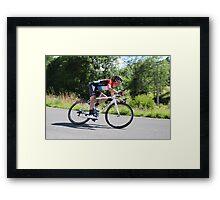 Frank Schleck - Tour de France 2014 Framed Print