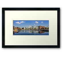 Salthouse Dock - Liverpool -  In The Sun Framed Print