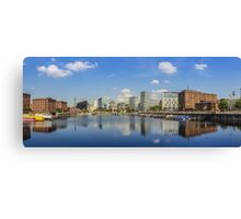 Salthouse Dock - Liverpool -  In The Sun Canvas Print
