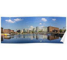 Salthouse Dock - Liverpool -  In The Sun Poster