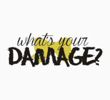 What's Your Damage? (Yellow Bow) Kids Clothes