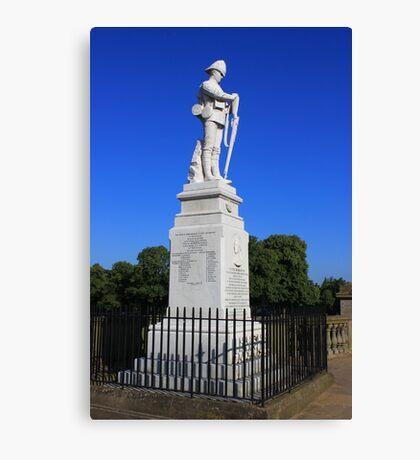 Shrewsbury Boer War Memorial Canvas Print