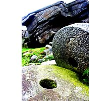 Mill Stones at Stanage Edge Photographic Print