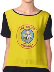 Los Pollos Hermanos - Circle Variant Chiffon Top