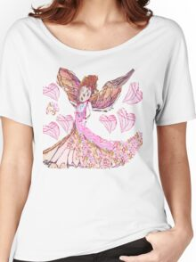 Fanciful Fairy Love  Women's Relaxed Fit T-Shirt