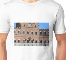 Red brick building from Piazza del Campo, Siena Unisex T-Shirt