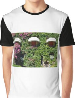 Building facade covered in vegetation Graphic T-Shirt