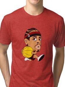 AI dunk basketball Tri-blend T-Shirt
