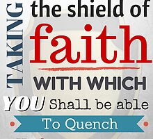 Put on the whole armour of God, Bible Verse / quotation by verypeculiar