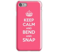Legally Blonde - Keep Calm and Bend and Snap iPhone Case/Skin