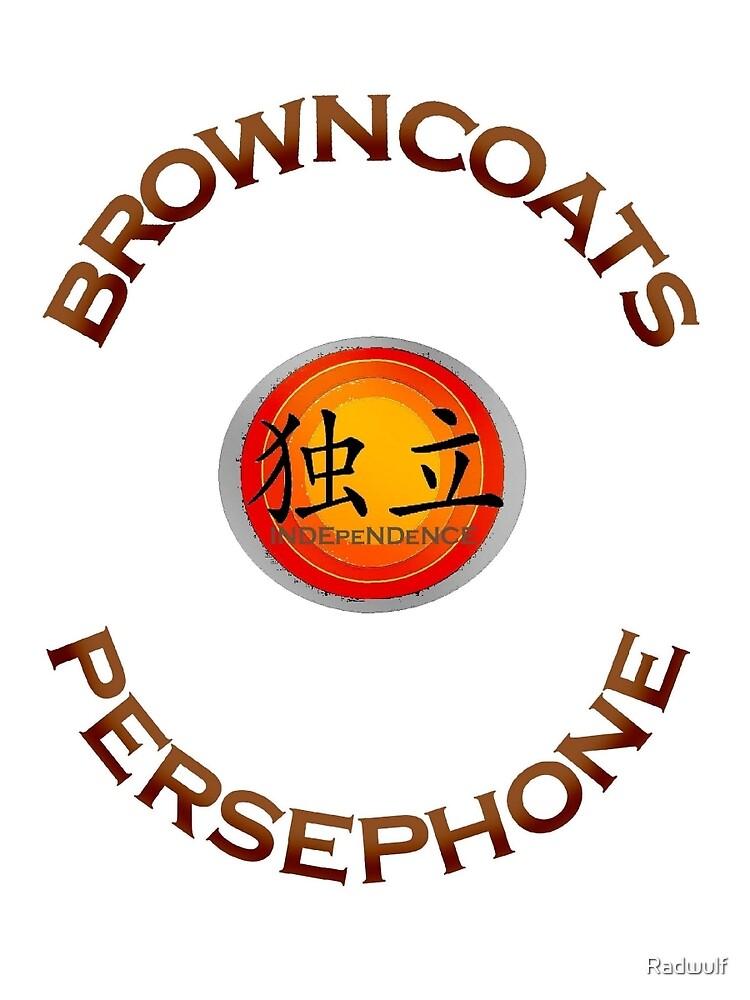 Browncoats Persephone by Radwulf