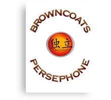 Browncoats Persephone Canvas Print