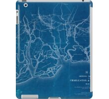 0224 Railroad Maps Map showing the location of the Charleston Savannah R R May Inverted iPad Case/Skin